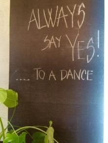 Always say...